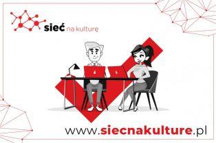grafika promująca projekt Sieć na Kulturę