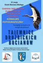 Plakat dotyczący konkursu fotograficznego